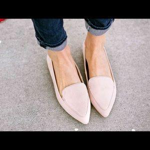 Kelly & Katie Cigola Pink Pointed Flats